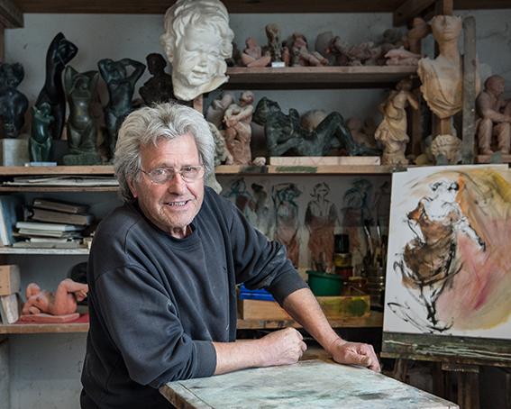 Robert Rayne, sculpteur et peintre